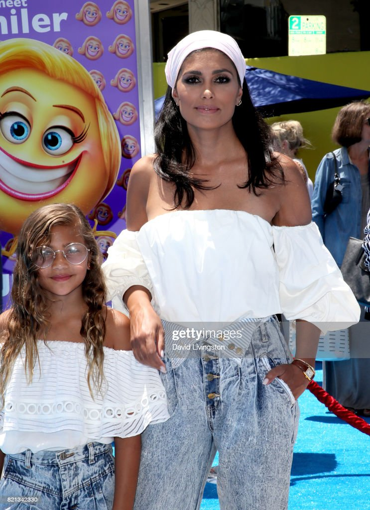 Tallulah Dash and Rachel Roy attend the premiere of Columbia