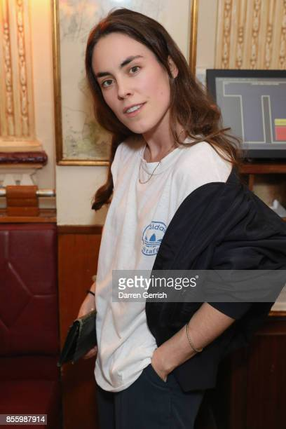 Tallulah Harlech attends a dinner in Paris to celebrate Another Magazine A/W17 hosted by Vivienne Westwood Andreas Kronthaler Jefferson Hack Susannah...