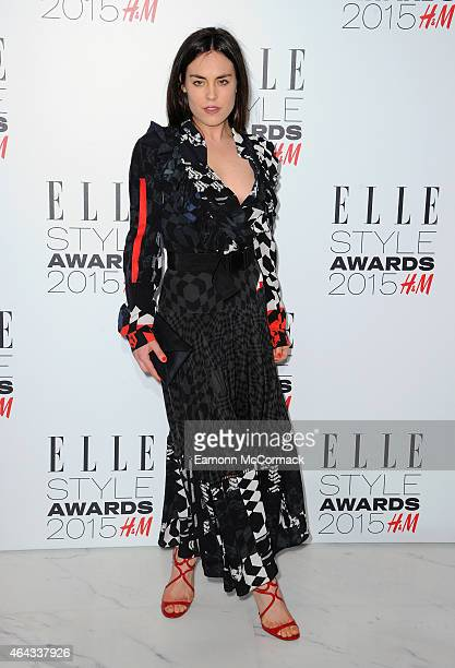 Tallulah Harlech attends the Elle Style Awards 2015 at Sky Garden @ The Walkie Talkie Tower on February 24 2015 in London England