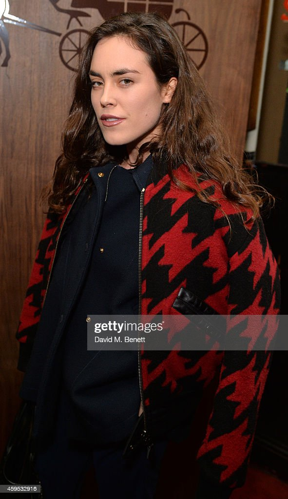 Tallulah Harlech attends the Thanksgiving dinner with Coach hosted by Zoe Kravitz and Mary Charteris on November 24, 2014 in London, England.