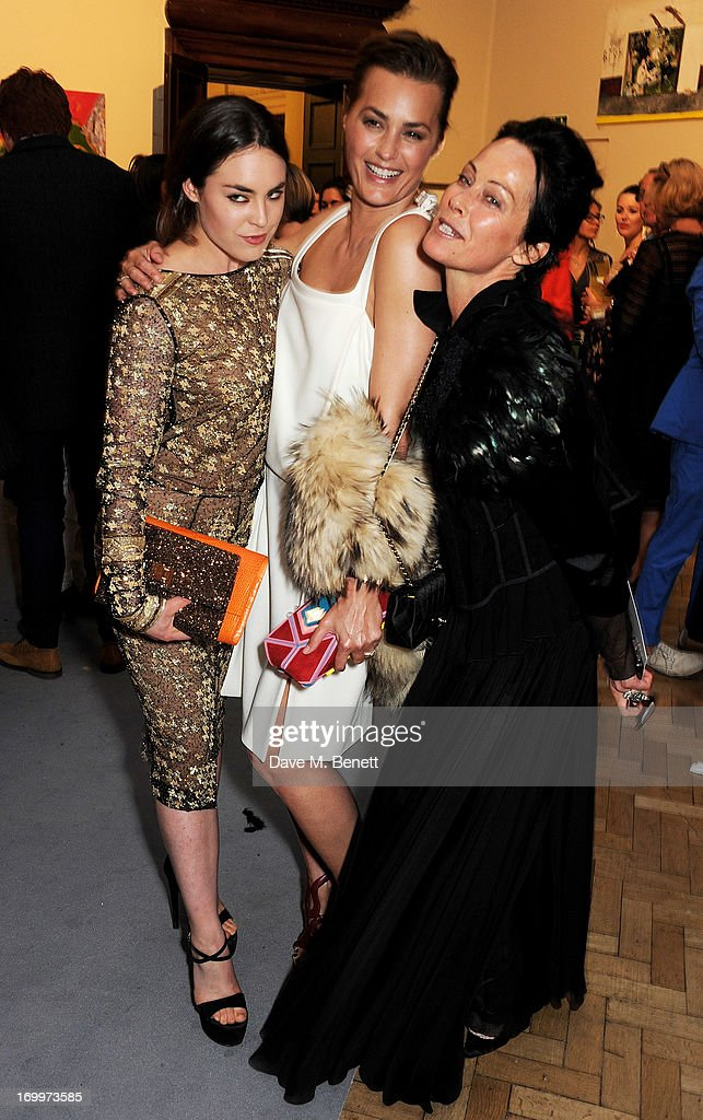 Tallulah Harlech, Yasmin Le Bon and Lady Amanda Harlech attend the preview party for The Royal Academy Of Arts Summer Exhibition 2013 at Royal Academy of Arts on June 5, 2013 in London, England.