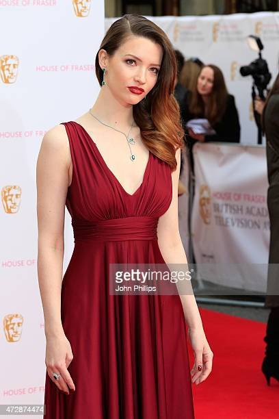 Tallulah Riley attends the House of Fraser British Academy Television Awards at Theatre Royal on May 10 2015 in London England