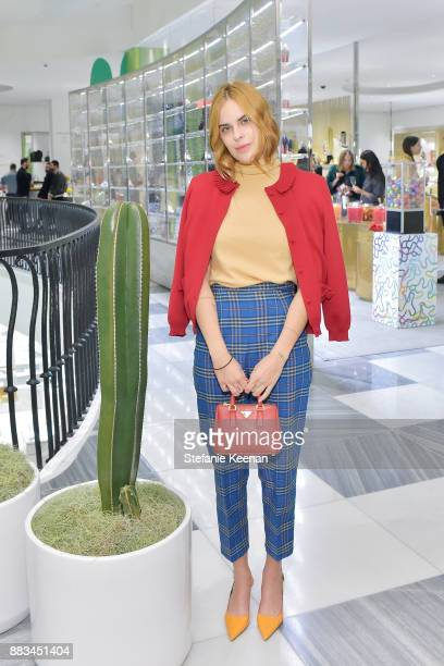 Tallulah Willis attends Barneys New York Celebrates Haas for the Holidays Hosted by Matthew Mazzucca Nikolai Haas and Simon Haas at Barneys New York...