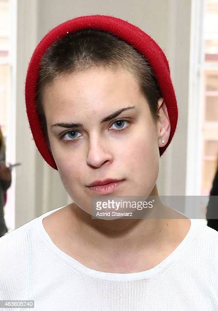 Tallulah Willis attends Eckhaus Latta Front Row during MADE Fashion Week Fall 2015 on February 16 2015 in New York City