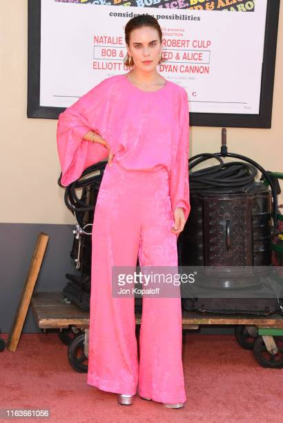 """Tallulah Willis attends Sony Pictures' """"Once Upon A Time...In Hollywood"""" Los Angeles Premiere on July 22, 2019 in Hollywood, California."""