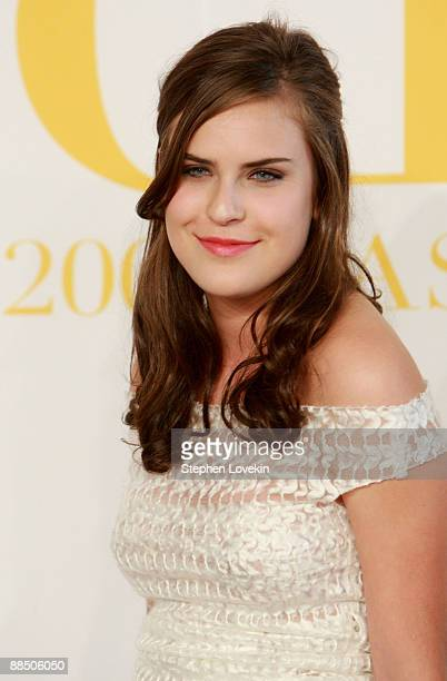 Tallulah Willis attends the 2009 CFDA Fashion Awards at Alice Tully Hall Lincoln Center on June 15 2009 in New York City