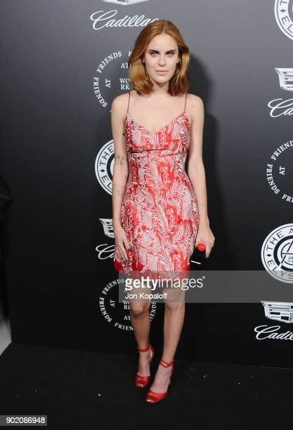 Tallulah Willis attends The Art Of Elysium's 11th Annual Celebration Heaven at Barker Hangar on January 6 2018 in Santa Monica California