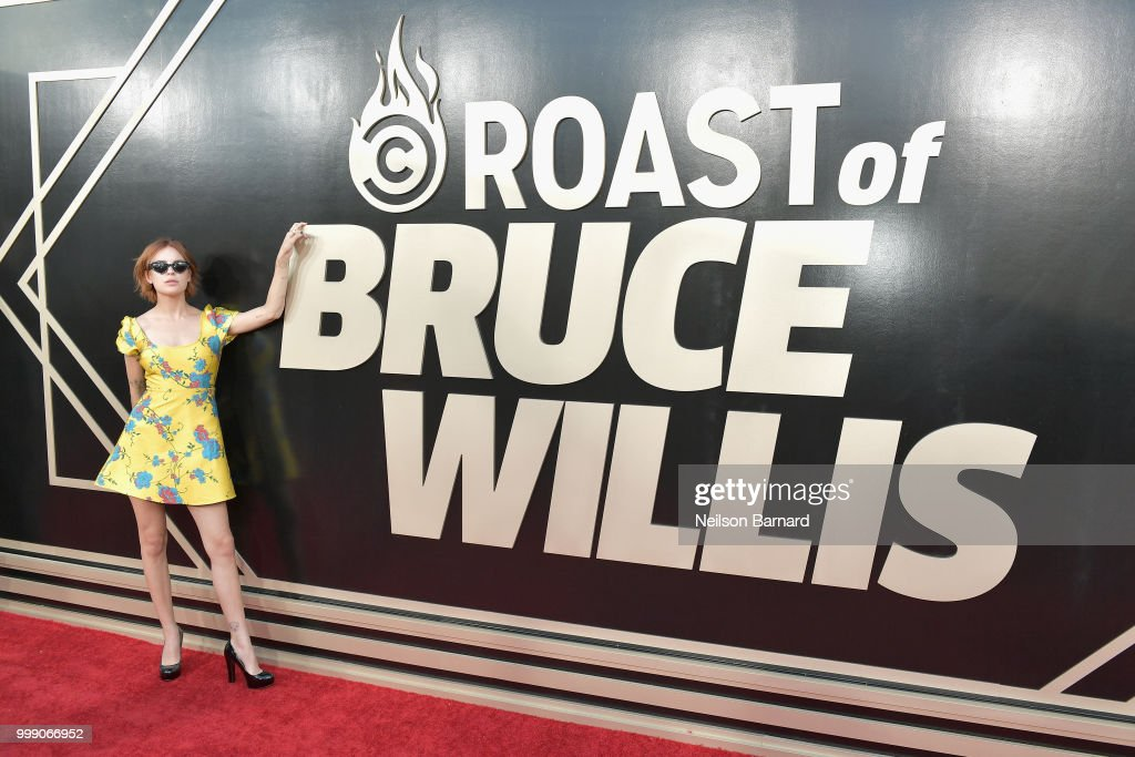 Tallulah Willis attends the Comedy Central Roast of Bruce Willis at Hollywood Palladium on July 14, 2018 in Los Angeles, California.