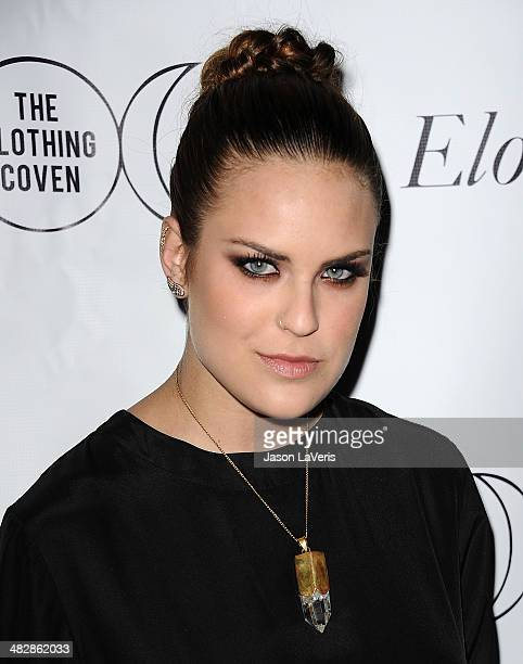 Tallulah Willis attends the launch of 'The Clothing Coven' at Elodie K on April 4 2014 in West Hollywood California