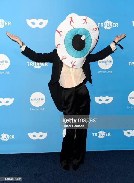 Tallulah Willis attends the UNICEF Masquerade Ball at Kimpton La Peer Hotel on October 26 2019 in West Hollywood California