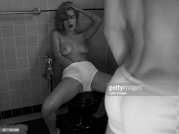 Tallulah Willis is photographed for Self Assignment on May 26 2016 in Los Angeles California Please note Sexually Explicit Content Nudity