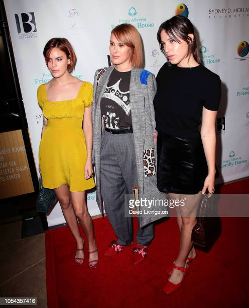 Tallulah Willis, Rumer Willis and Scout Willis attend the Peggy Albrecht Friendly House's 29th Annual Awards Luncheon at The Beverly Hilton Hotel on...