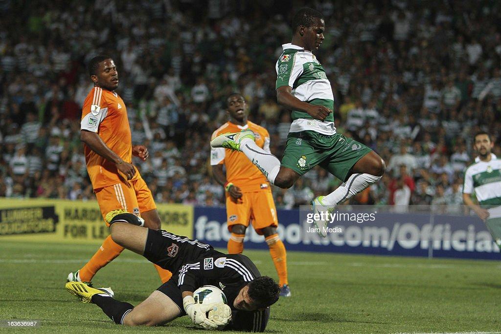 Santos v Houston Dynamo - 2012 - 13 CONCACAF Champions League Photos ...