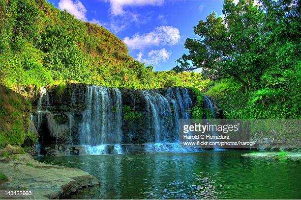 talofofo falls - guam stock pictures, royalty-free photos & images