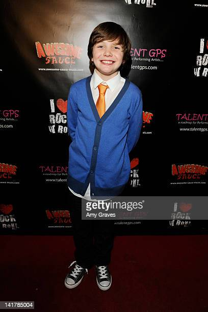 Talon Browning attends the Shamrock and Roll Concert for St. Jude's Children's Hospital on March 17, 2012 in Los Angeles, California.