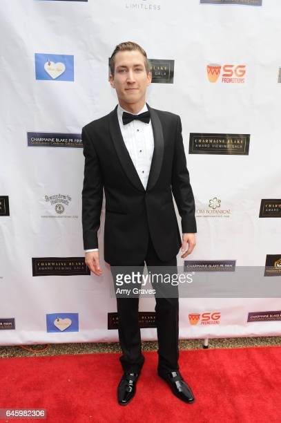 Talon Reid attends Charmaine Blake's 2nd Annual Red Carpet Academy Awards Viewing Party Hosted By Bruno Gunn And Golden Brooks on February 26 2017 in...
