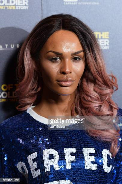 Talulah Eve arriving at the UK Premiere of 'Rise of the Footsoldier 3 The Pat Tate Story' at Cineworld Leicester Square on October 26 2017 in London...