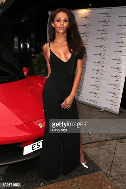 Talulah Eve Brown attends Ester Dee All About the Beach launch party at The Directors Party Lounge on August 2 2017 in London England
