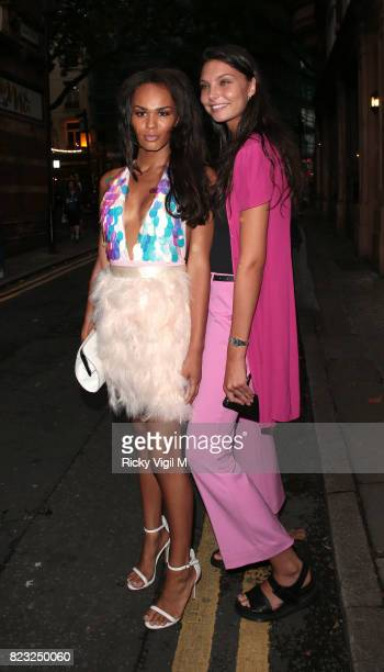 Talulah Eve Brown attends Spectrum x Mean Girls Burn Book launch party at Icetank Studios on July 26 2017 in London England