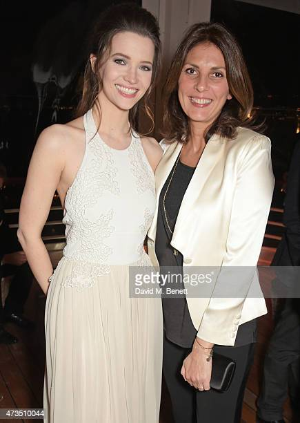 Talulah Riley and Gina Bellman attend as Charles Finch hosts his annual Filmmakers Dinner and photographic exhibition in celebration of 'The Art of...