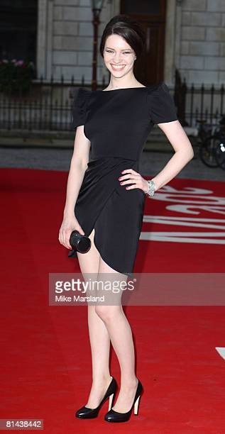 Talulah Riley attends The Royal Academy of Arts Summer Exhibition at Royal Academy of Arts on June 4, 2008 in London, UK.
