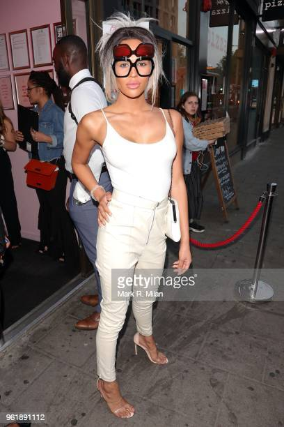 TalulahEve attending the Gemma Collins X Boo Hoo event at Tonight Josephine on May 23 2018 in London England