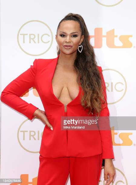Talulah-Eve attends The TRIC Awards 2021 at 8 Northumberland Avenue on September 15, 2021 in London, England.