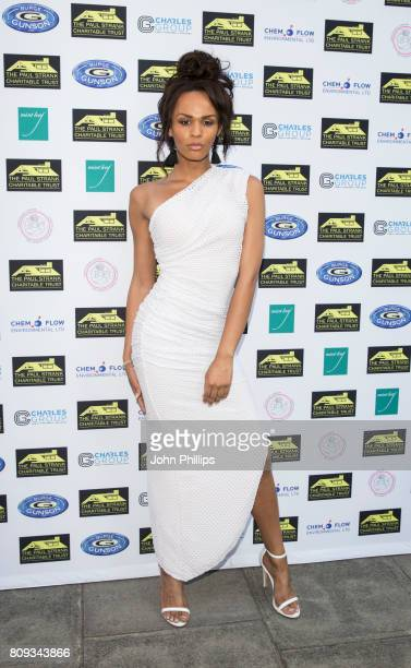 TalulahEve Brown attends the Paul Strank Charitable Trust Summer Party at Mint Leaf on July 5 2017 in London England