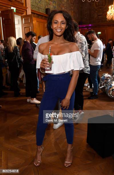 TalulahEve Brown attends the Tinder Pride 2017 Party at The Ned on July 1 2017 in London England The party hosted by Tinder at The Ned for...