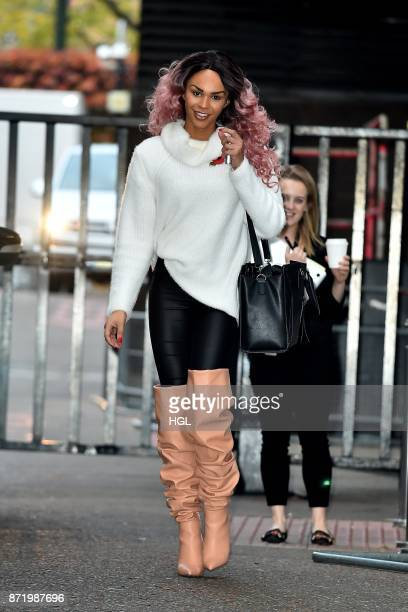 TalulahEve Brown seen at the ITV Studios on November 9 2017 in London England