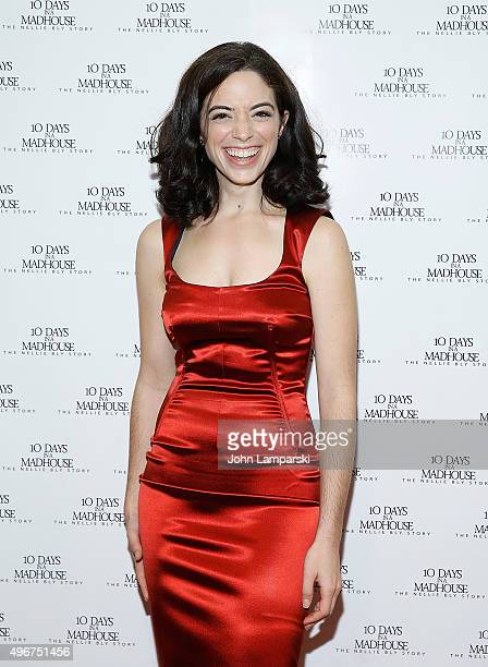 Talya Mar attends '10 Days In A Madhouse' New York premiere at AMC Empire 25 theater on November 11 2015 in New York City
