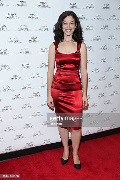 Talya Mar attends the New York Premiere of 10 DAYS IN A MADHOUSE at AMC Empire on November 11 2015 in New York City
