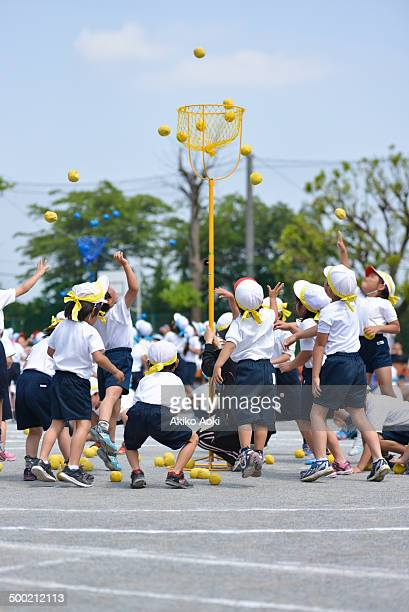 Tama-ire on sports day