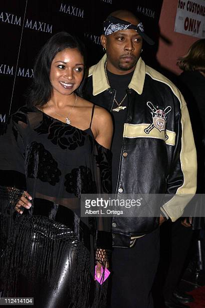 Tamala Jones and Nate Dogg during Live Performance by The Pussycat Dolls Hosted by Maxim Magazine - Arrivals at The Henry Fonda Theater in Hollywood,...