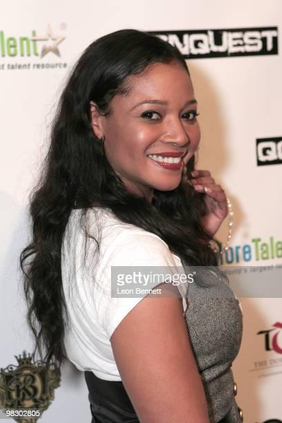 Tamala Jones arrives at Boulevard3 on April 6, 2010 in Hollywood, California.