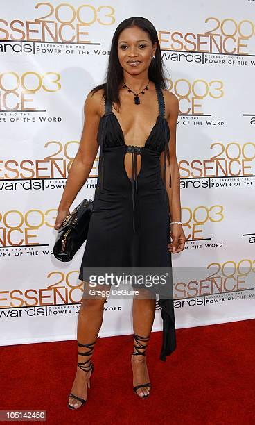 Tamala Jones during 2003 Essence Awards Arrivals at Kodak Theatre in Hollywood California United States