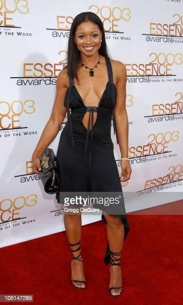Tamala Jones during 2003 Essence Awards - Arrivals at Kodak Theatre in Hollywood, California, United States.