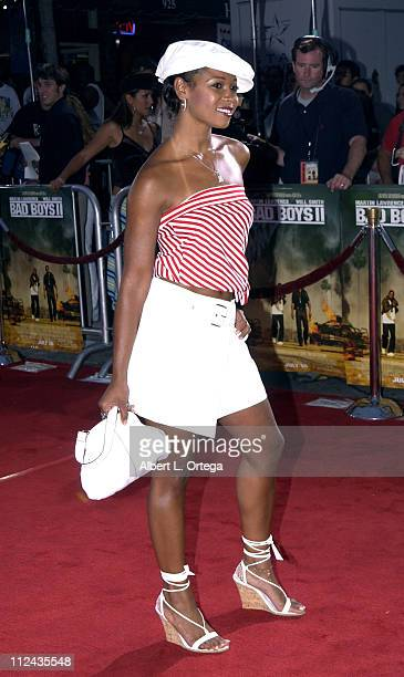 "Tamala Jones during ""Bad Boys II"" Premiere in Westwood, California, United States."