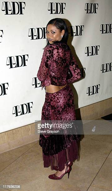 Tamala Jones during NAACP Legal Defense Fund's Hank Aaron Humanitarian Award in Sports at The Beverly Hilton Hotel in Beverly Hills California United...