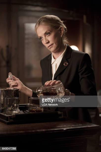 COLONY 'Tamam Shud' Episode 209 Pictured Ally Walker as Helena