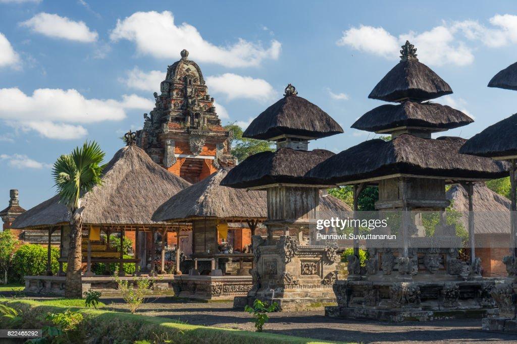 Taman Ayun temple, landmark of Bali island, Indonesia : Stock Photo
