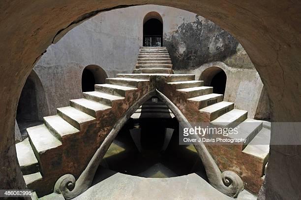taman sari underground mosque, yogyakarta - yogyakarta stock photos and pictures