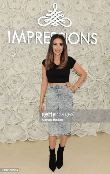 Tamanna Roashan attends Impressions Vanity Melrose Grand Opening Gala on December 4 2017 in Los Angeles California