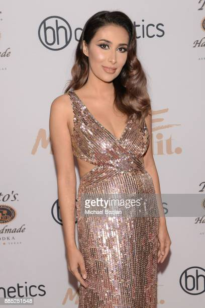 Tamanna Roashan attends #MelroseIsLit Impressions Vanity Melrose Grand Opening Gala on December 2 2017 in Los Angeles California