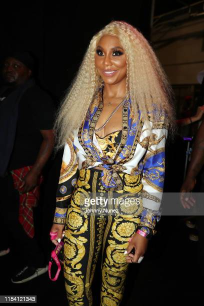 Tamar Braxton attends Day 1 of the 2019 Essence Music Festival at Ernest N. Morial Convention Center on July 5, 2019 in New Orleans, Louisiana.