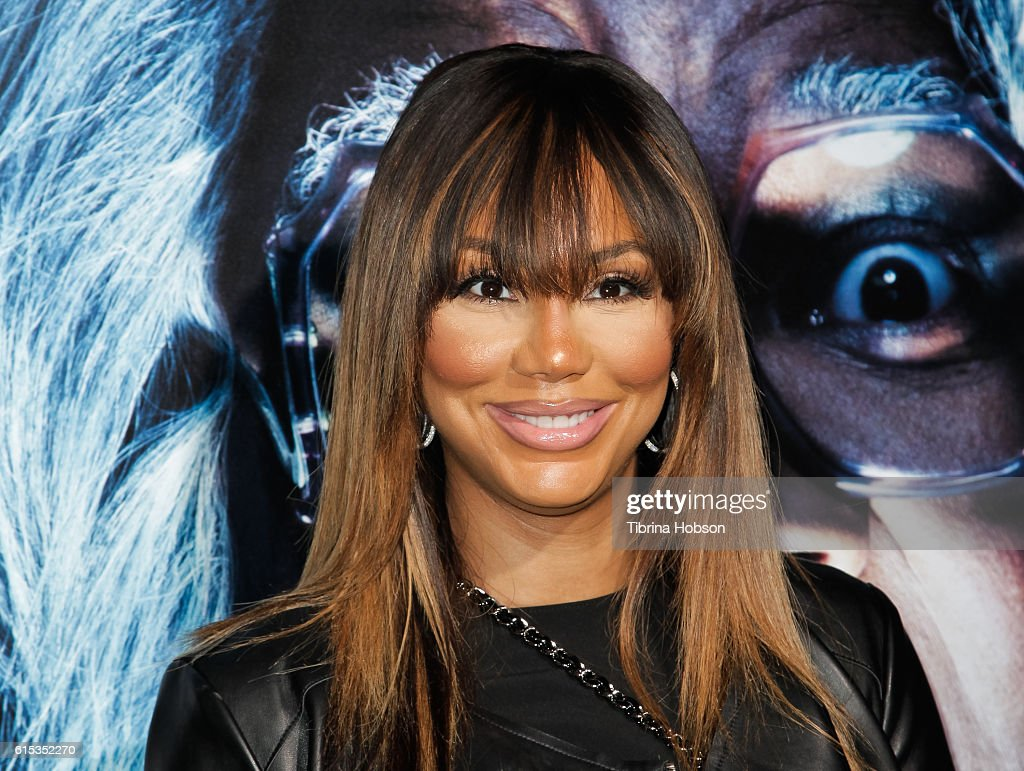 Tamar Braxton attends the premiere of 'Boo! A Madea Halloween' at ArcLight Cinemas Cinerama Dome on October 17, 2016 in Hollywood, California.
