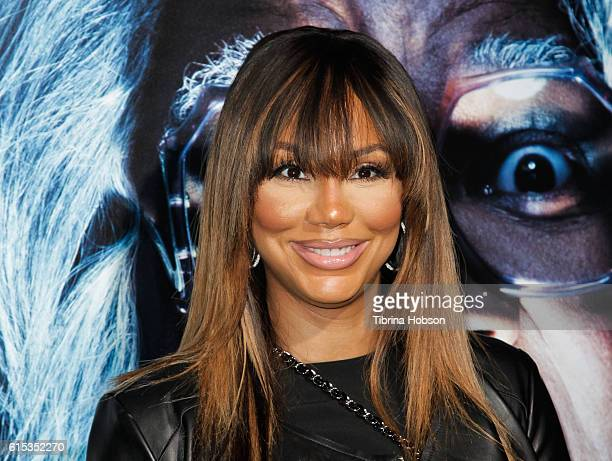 Tamar Braxton attends the premiere of 'Boo A Madea Halloween' at ArcLight Cinemas Cinerama Dome on October 17 2016 in Hollywood California
