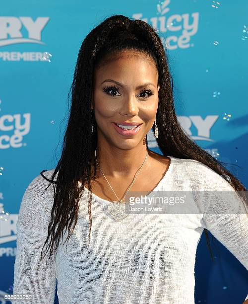 Tamar Braxton attends the premiere of 'Finding Dory' at the El Capitan Theatre on June 8 2016 in Hollywood California