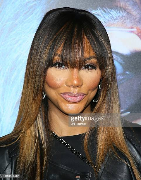 Tamar Braxton attends the premiere of Lionsgate's 'Boo A Madea Halloween' on October 17 2016 in Hollywood California