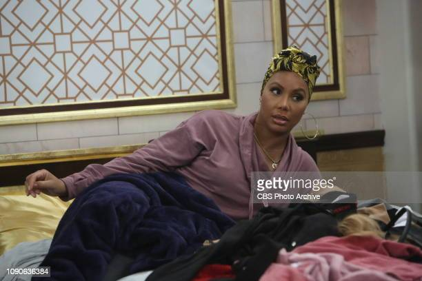 EDITION Tamar Braxton in the Big Brother house on the CBS Television Network